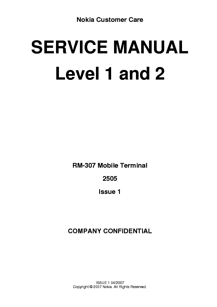 NOKIA 5110 SCH Service Manual download, schematics, eeprom
