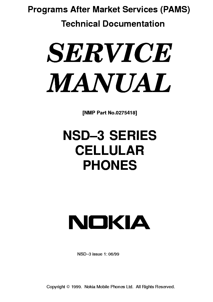 NOKIA 6151 RM-200 SERVICE SCHEMATICS Service Manual