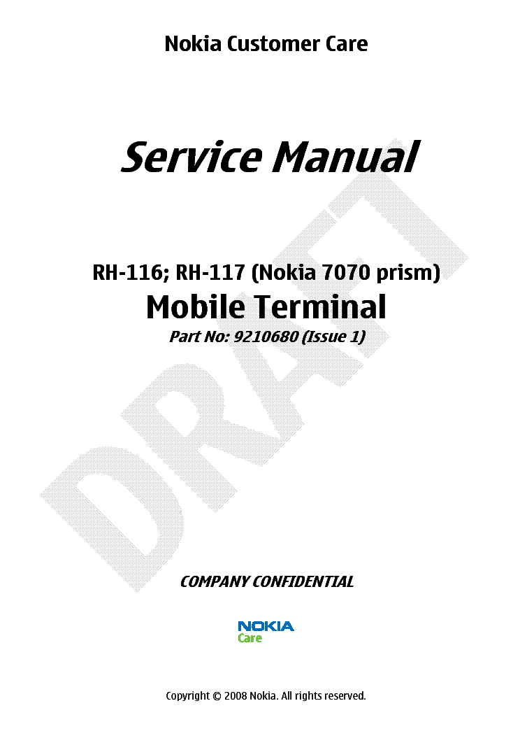 NOKIA C3-01-M RM-640 RM-662 SCH Service Manual download