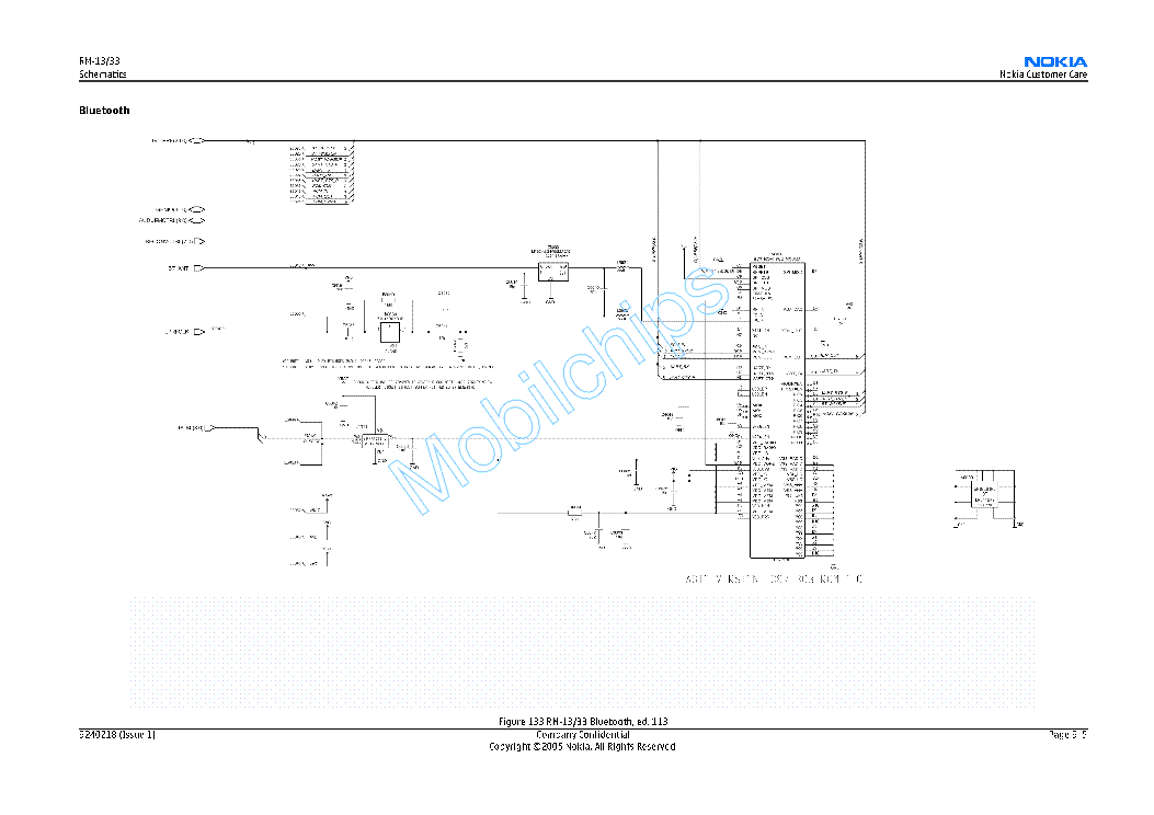 NOKIA 8800 RM-13 SCH Service Manual download, schematics