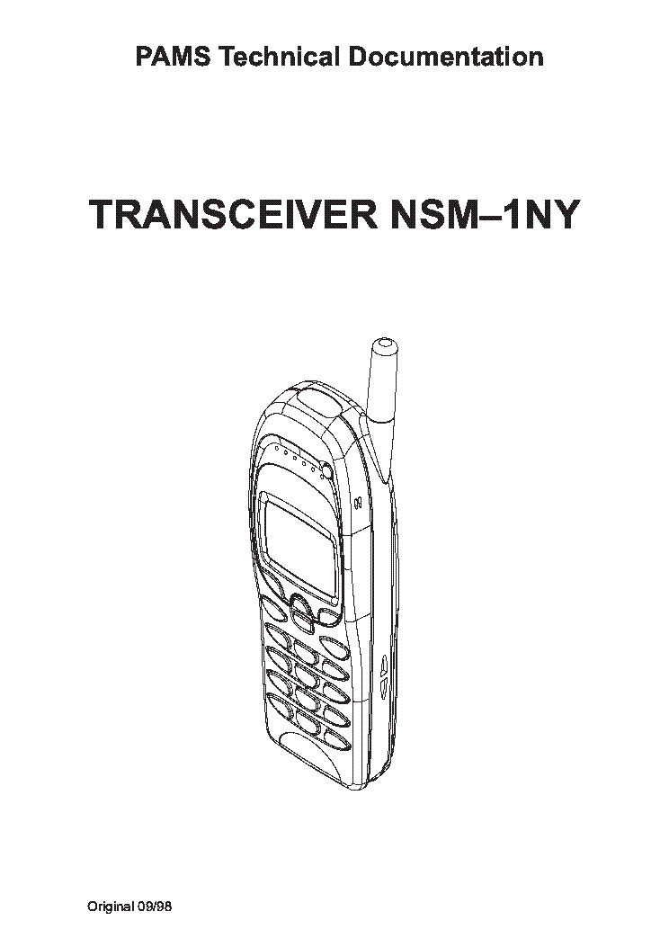 NOKIA NSM 1NY SM Service Manual download, schematics