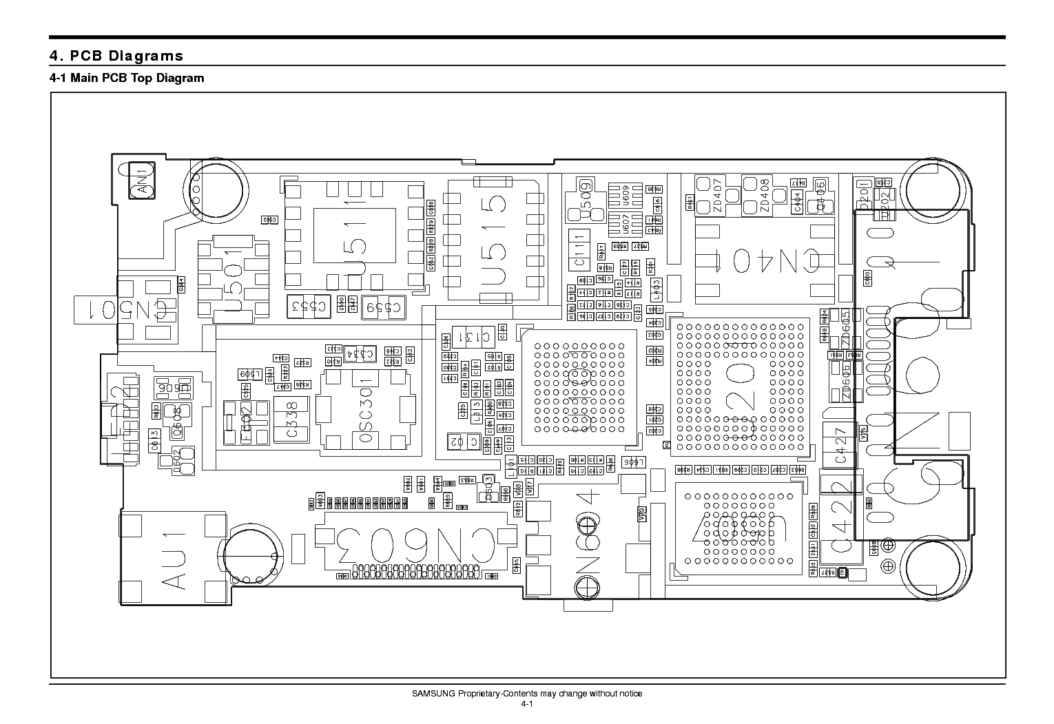 SAMSUNG SGH-A100 SCH Service Manual download, schematics