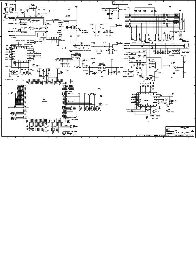 SAMSUNG GT-E1080 Service Manual download, schematics