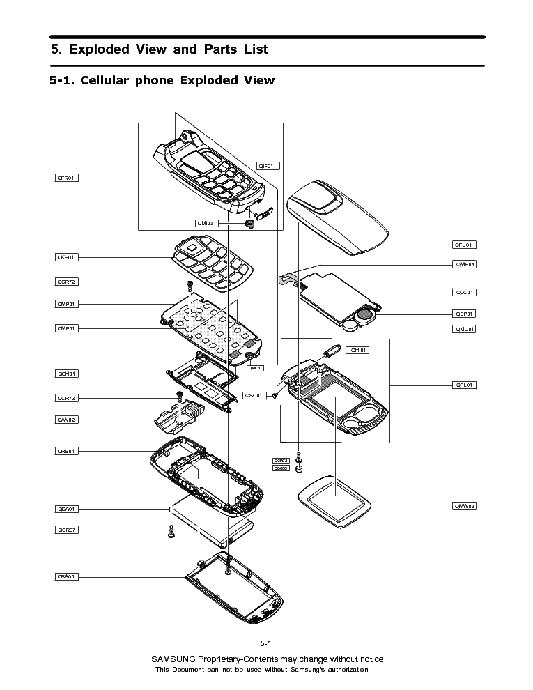 SAMSUNG SGH-C270 SERVICE MANUAL Service Manual download