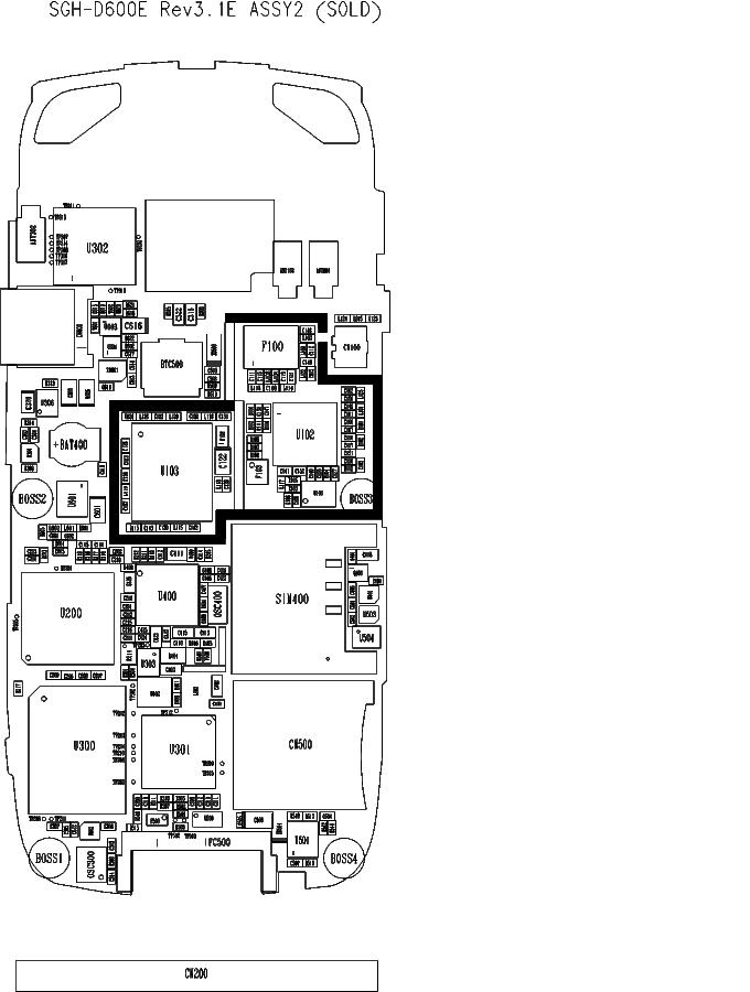 SAMSUNG SGH-D600E V3.1-E SCH Service Manual download