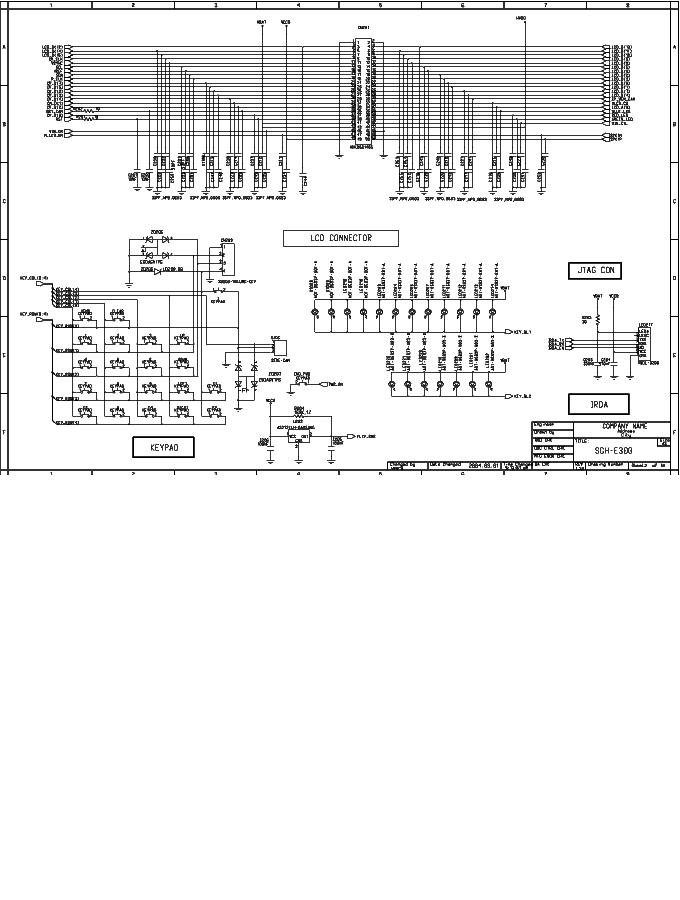 SAMSUNG SGH-E300 SCH 2 Service Manual download, schematics
