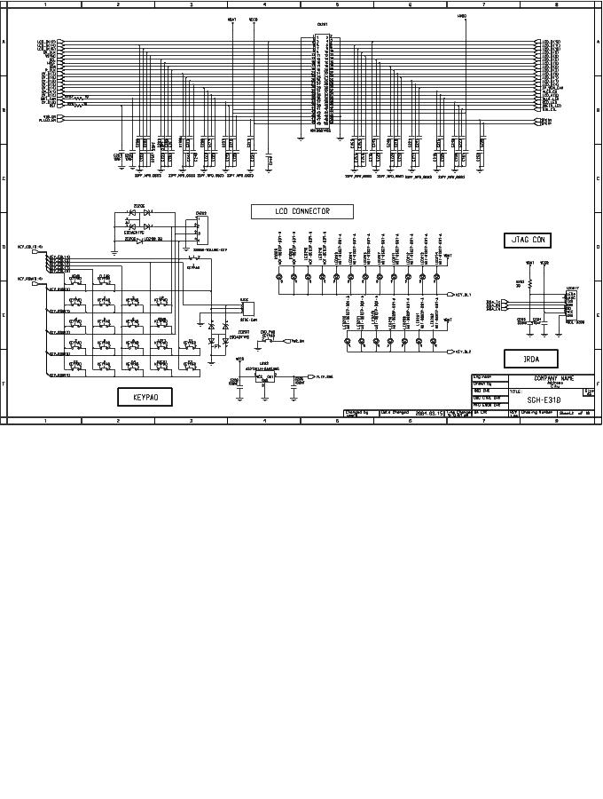 SAMSUNG SGH-E310 SCH Service Manual download, schematics