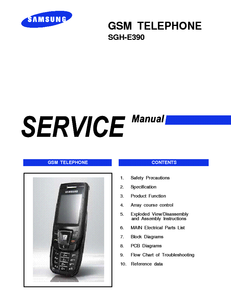 Samsung Phone Z40 Service Manual