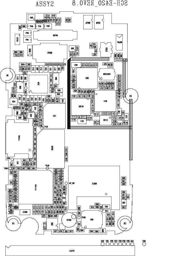 SAMSUNG SGH-E420 SCH Service Manual download, schematics