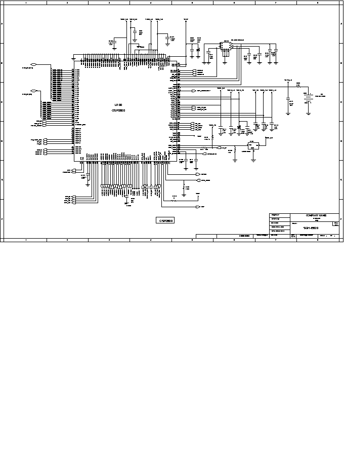 SAMSUNG CK 20S20BT S15A TDA8842 SAA5291PS STR 3S680RF