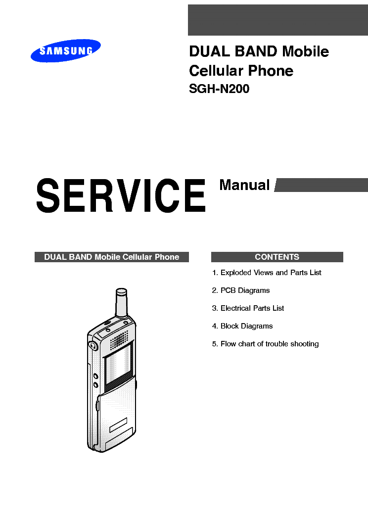 SAMSUNG SGH-D980 PLAYER DUO SERVICE MANUAL Service Manual