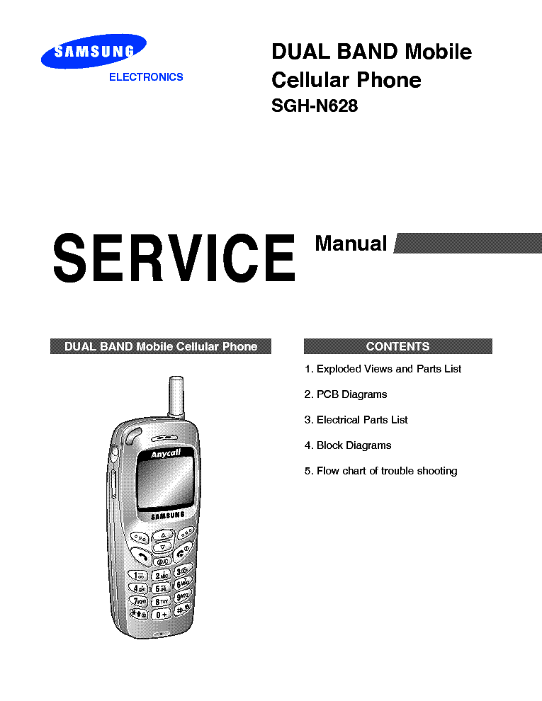 SAMSUNG SGH-E310 SCH Service Manual download, schematics
