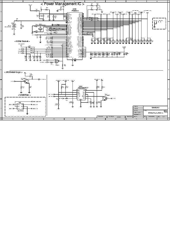 SAMSUNG SGH-P910 V1.3 SCH Service Manual download