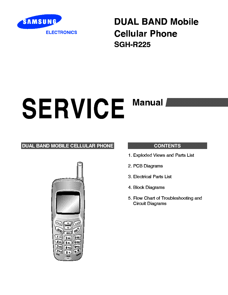 SAMSUNG GT-B7320 GT-B7320L Service Manual download
