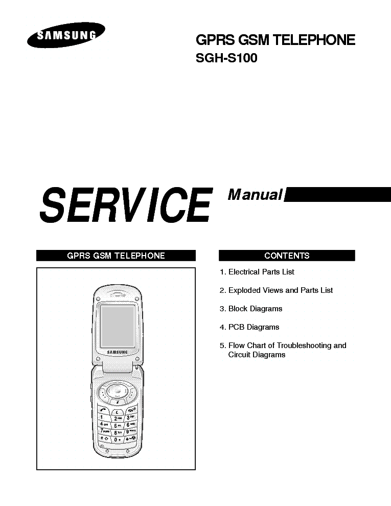 SAMSUNG GT-S5230 SM Service Manual free download