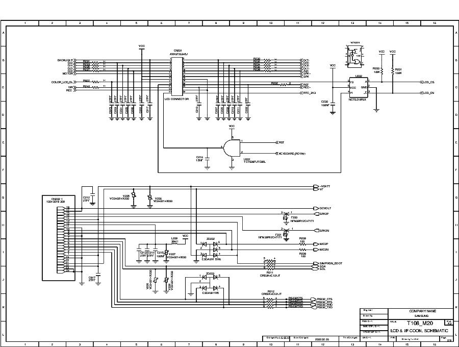 SAMSUNG SGH-T108 SCH Service Manual download, schematics