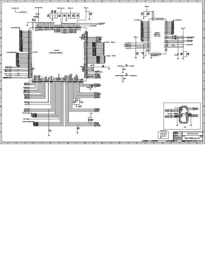 SAMSUNG SGH-X830 REV 2.1 SCHEMATICS Service Manual