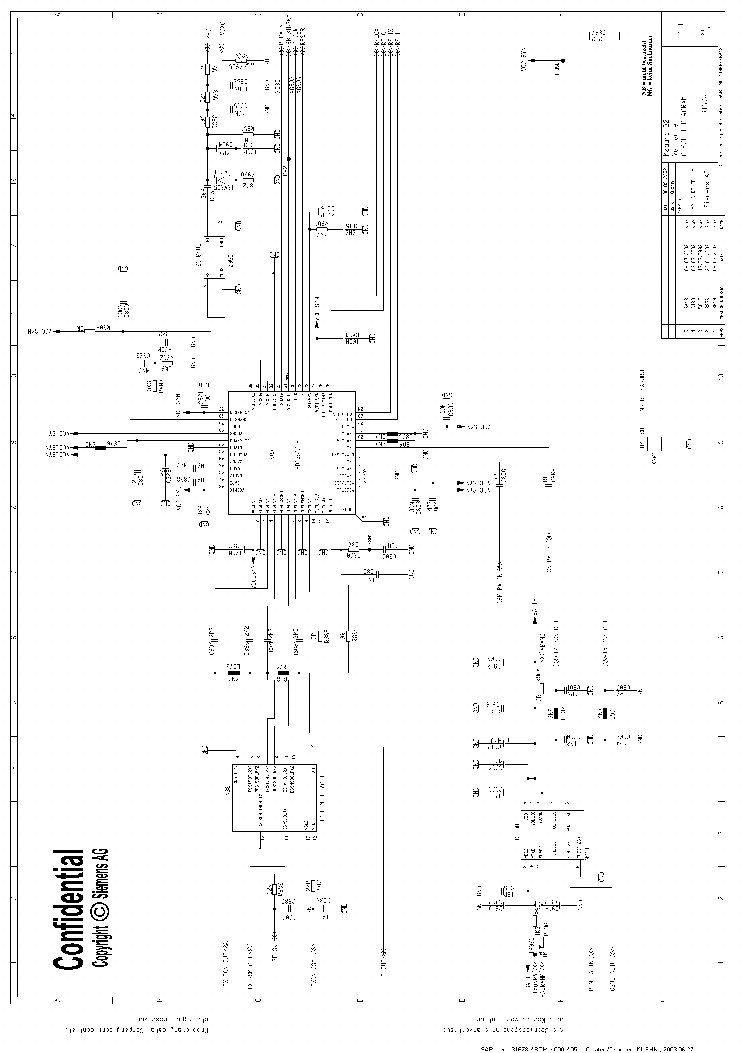 SIEMENS C25 V12 Service Manual download, schematics