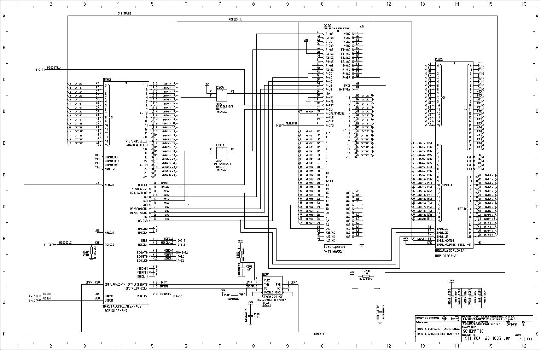 SONY ERICSSON W300 SCH Service Manual download, schematics
