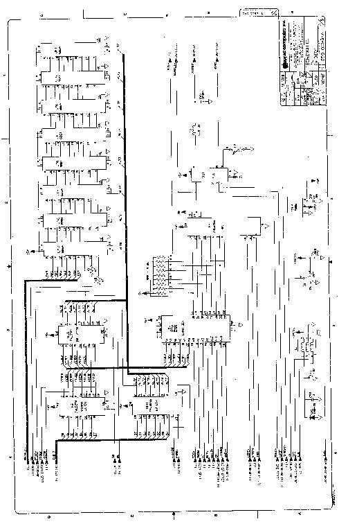 APPLE 2 SCHEMATIC Service Manual download, schematics