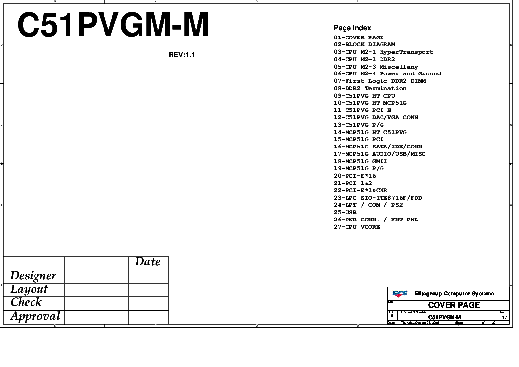 ECS P4M890T-M REV 1.0 SCH Service Manual download