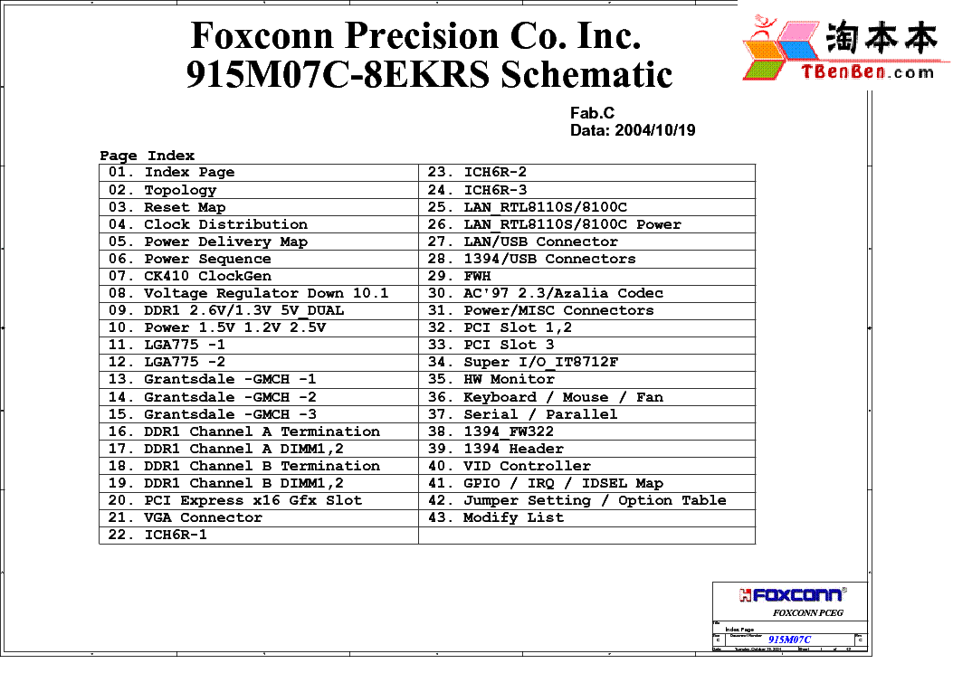 FOXCONN RS690S02 POODLE REV A SCH Service Manual download
