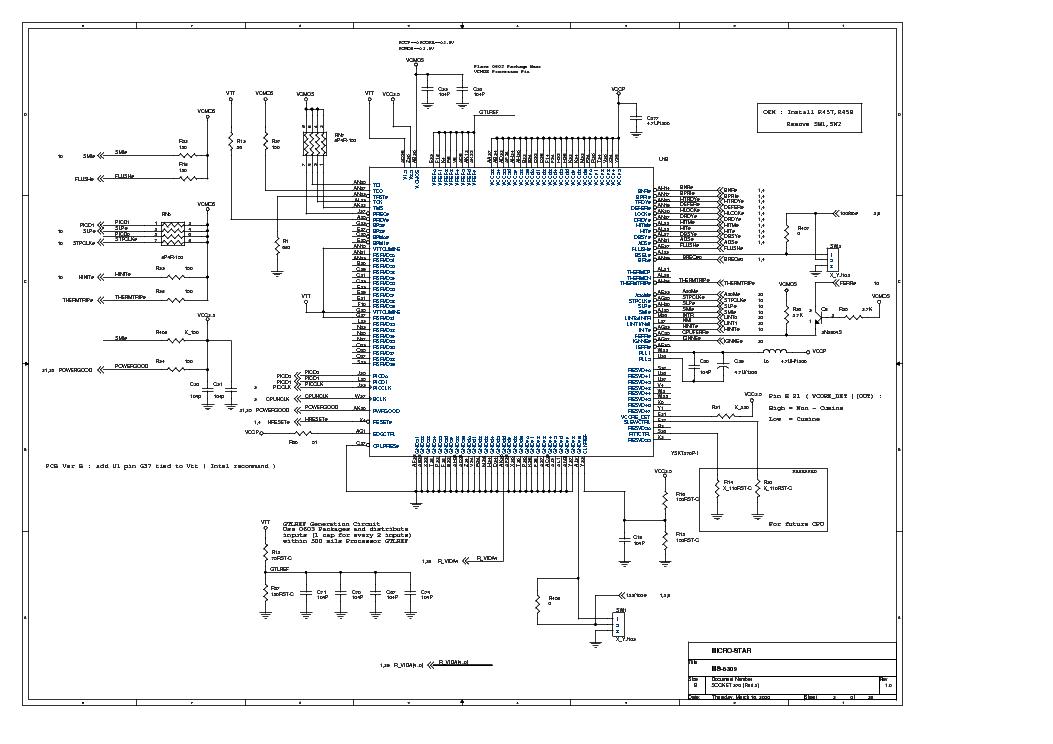 MSI MS-6309 REV 1.0 SCH Service Manual download
