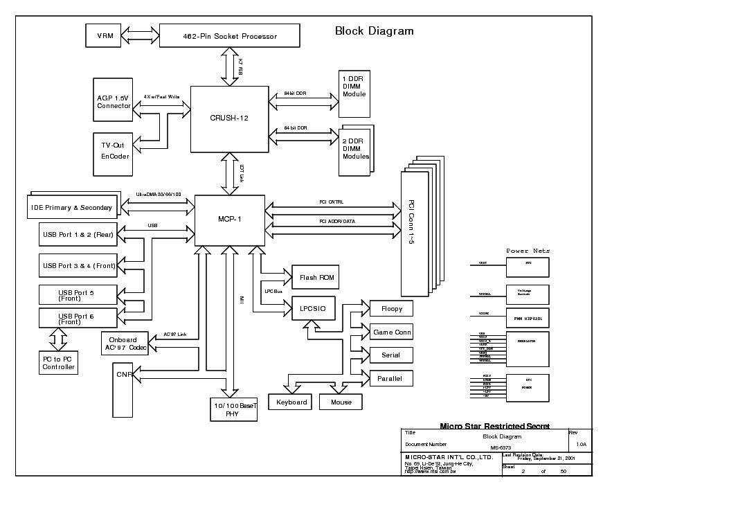 MSI MS-6373 REV 1.0A 2 SCH Service Manual download