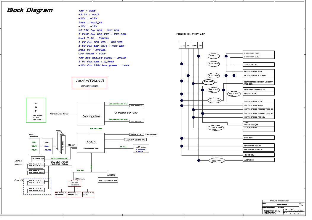 MSI MS-7012 REV 1.0A SCH Service Manual download