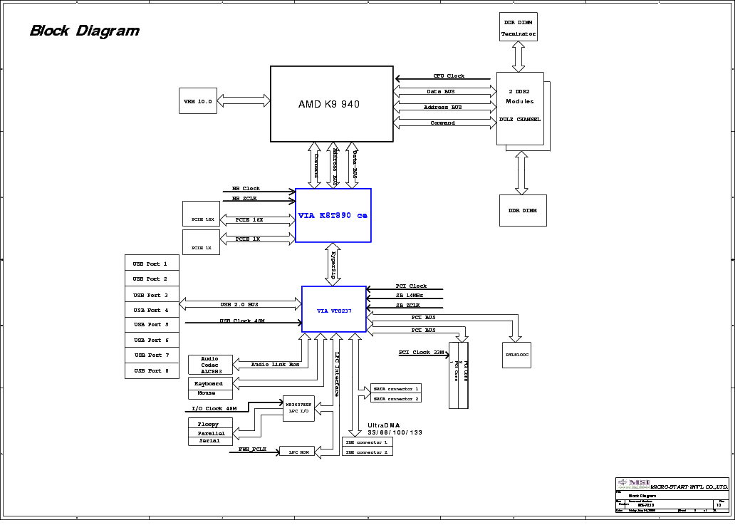 MSI MS-7253 REV 10 SCH Service Manual download, schematics