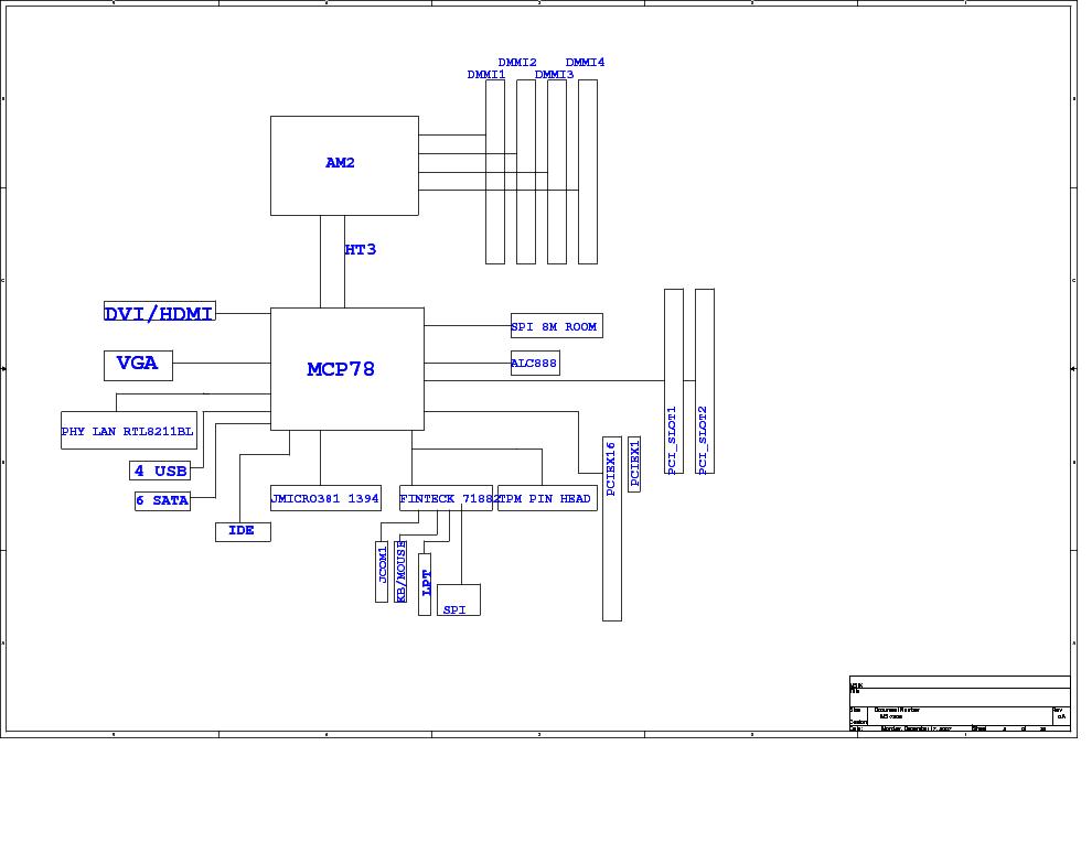 MSI MS-7508 REV 0A 10 SCH Service Manual download