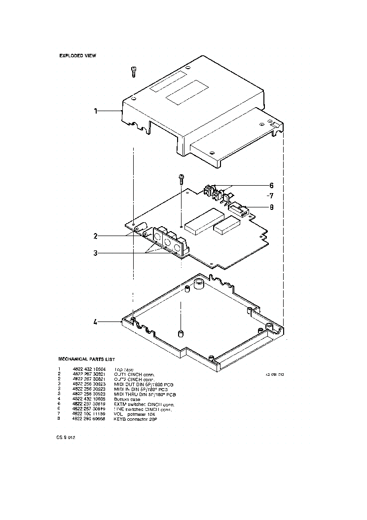 PHILIPS NMS1205 1160 Service Manual download, schematics