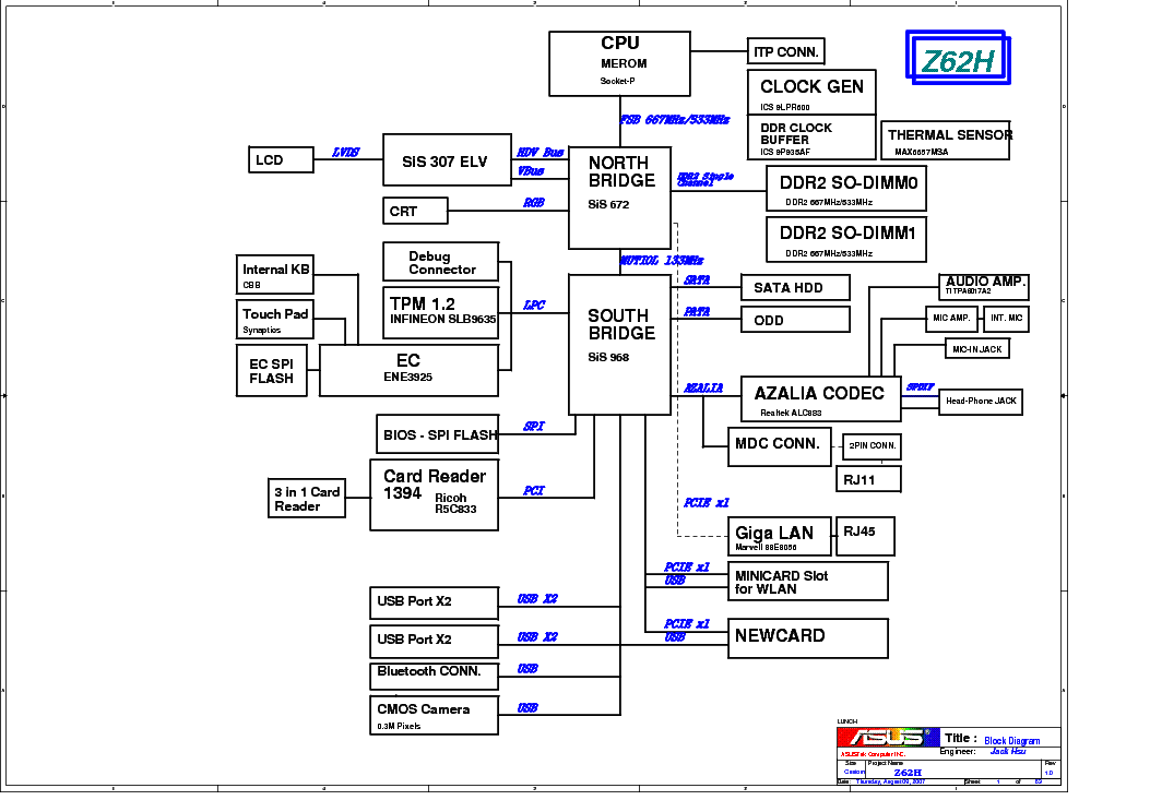 QUANTA JM3 POWER SEQUENCE REV 02 Service Manual download