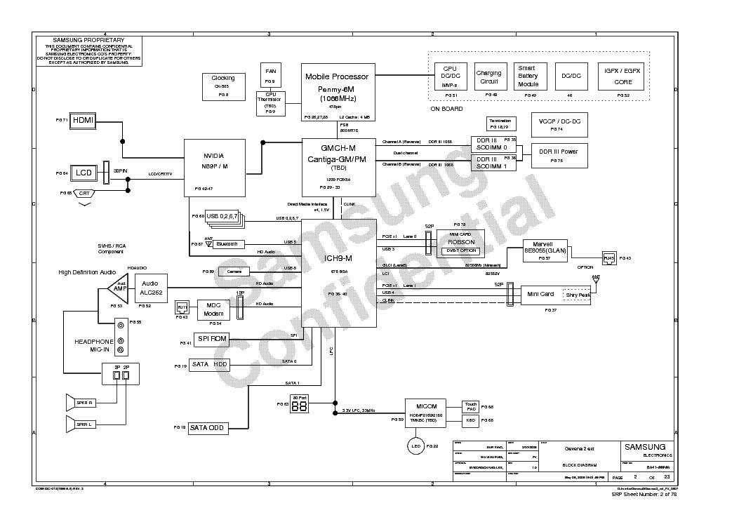 SAMSUNG NP-R710 E172 GENEVA2 EXT REV 1.0 SCH Service