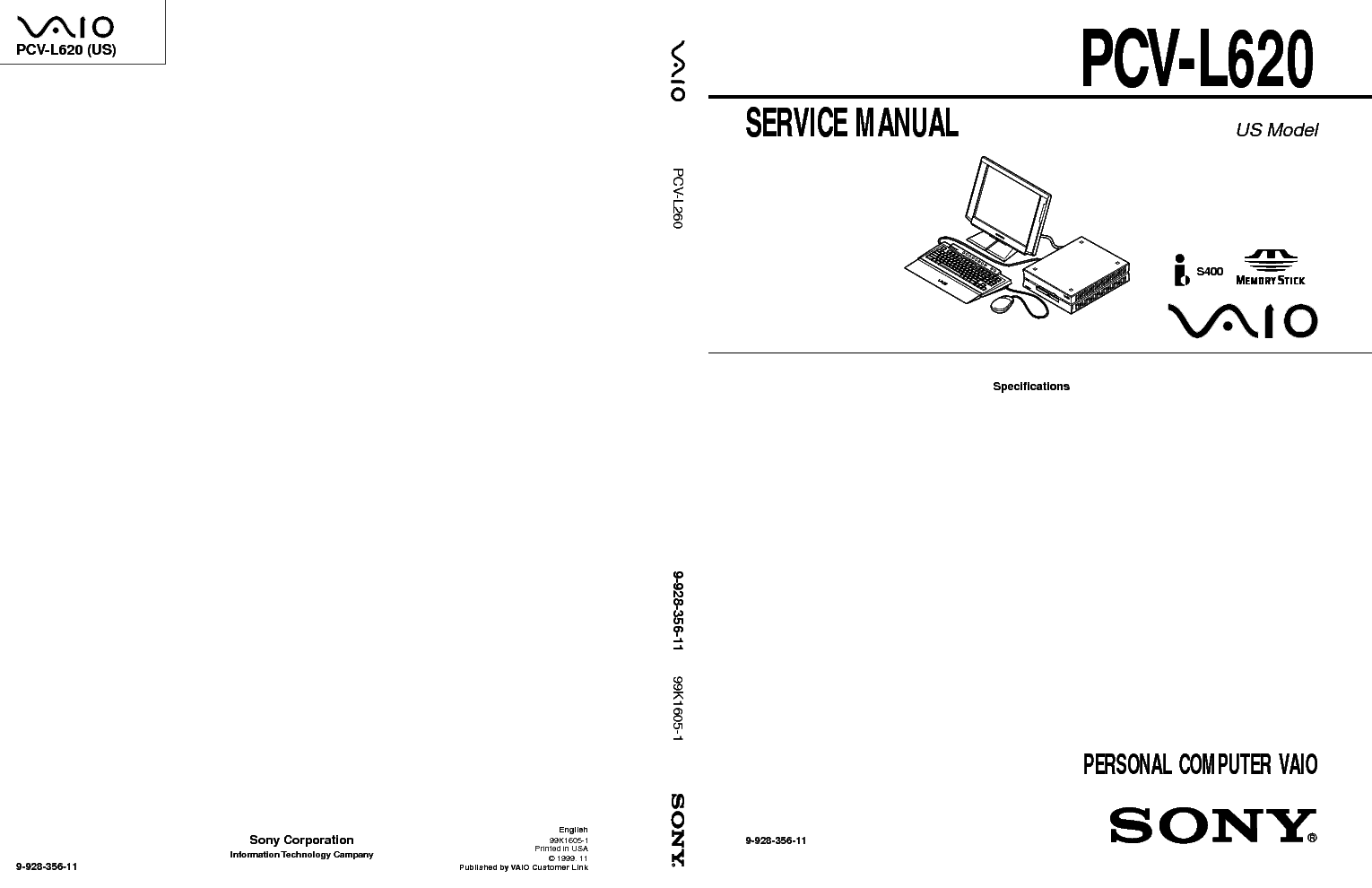 SONY VAIO PCG-GRT SERIES SM Service Manual free download