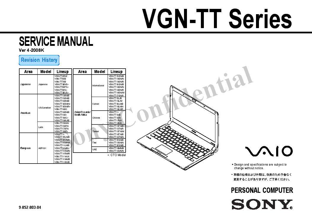 SONY HB-F700P Service Manual free download, schematics