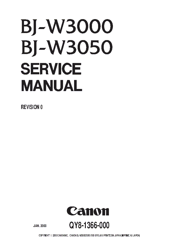 CANON PIXMA-MG5220 SM Service Manual download, schematics