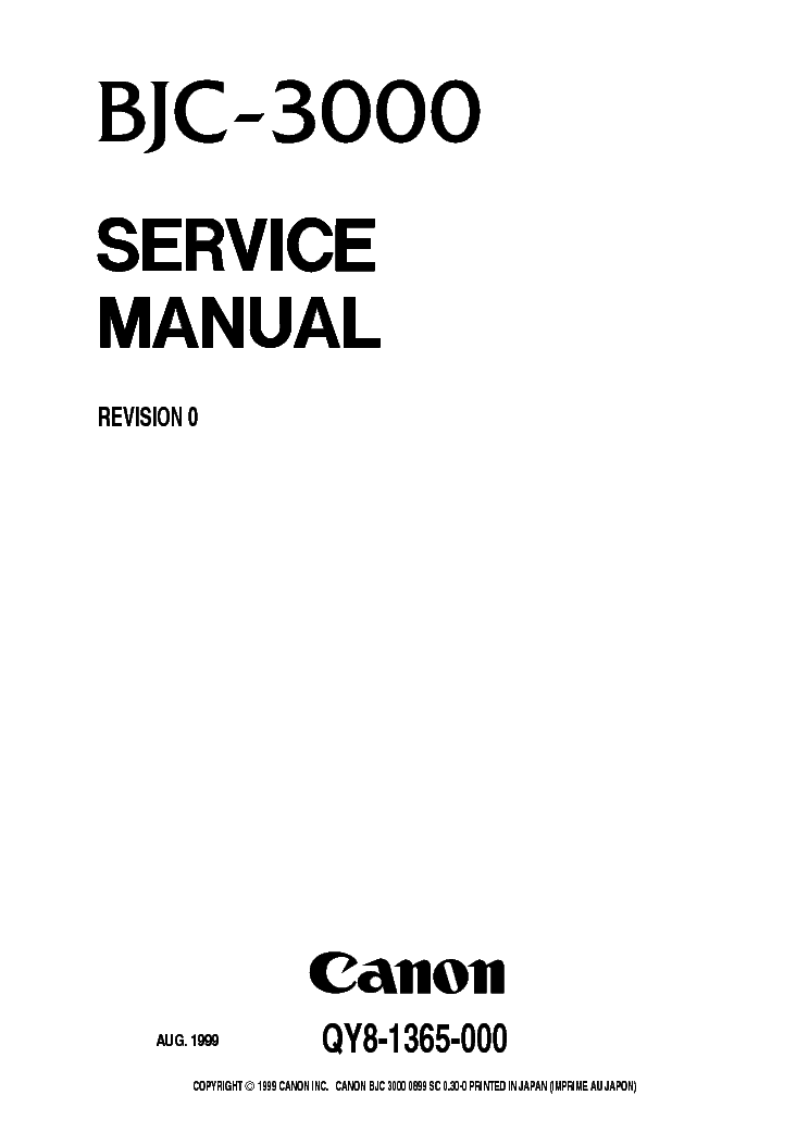 CANON IMAGERUNNER 2530 2525 2520 SM Service Manual free