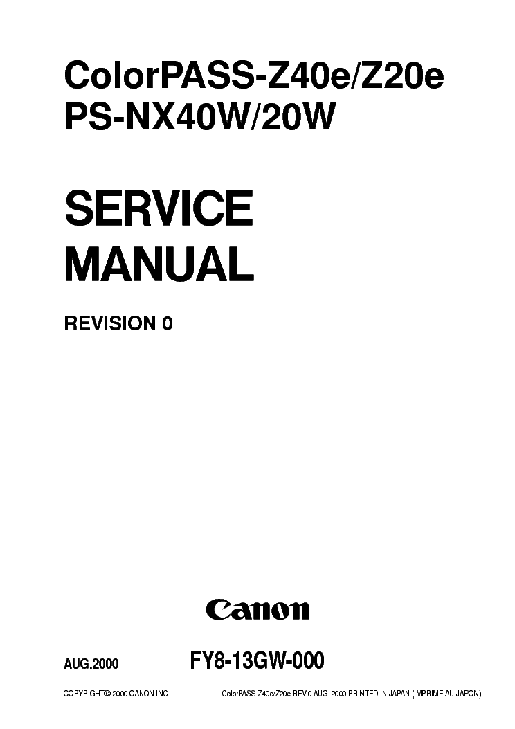 CANON LBP-1120 CIRCUIT DIAGRAM Service Manual free