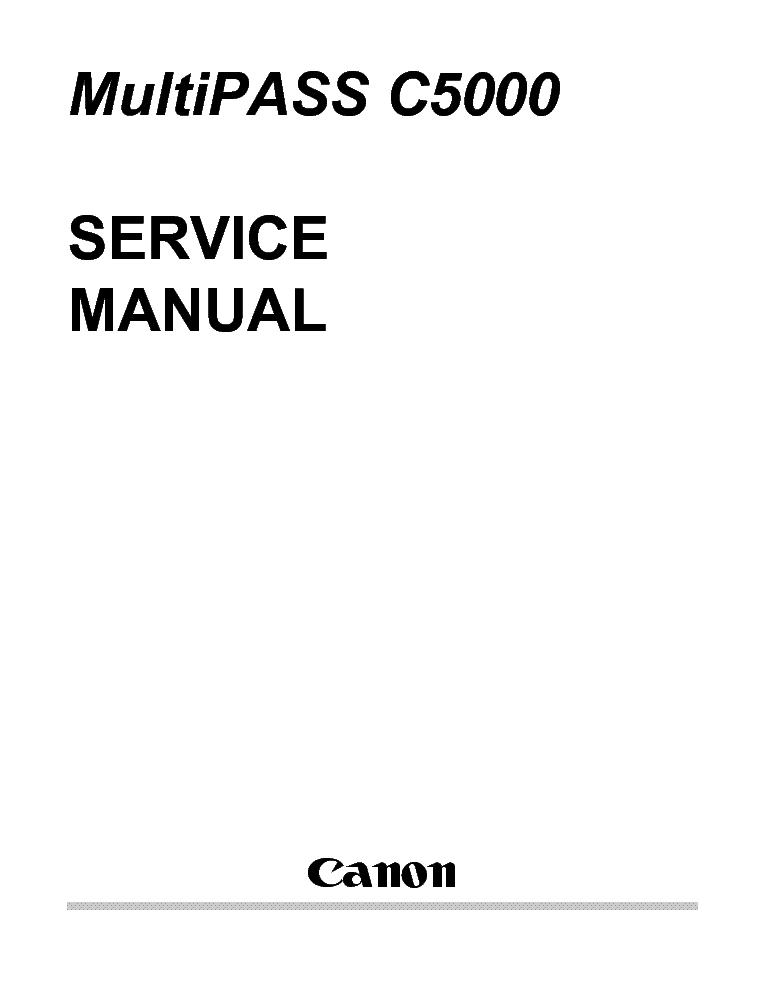 CANON PIXMA IP4700 SERVICE MANUAL EBOOK