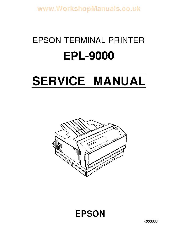 EPSON STYLUS PRO 7400 7800 9400 9800 LARGE FORMAT PRINTER