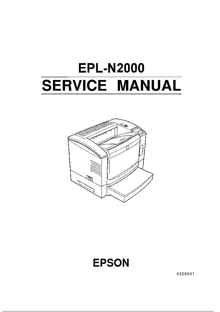 EPSON STYLUS PHOTO RX500 RX510 Service Manual free