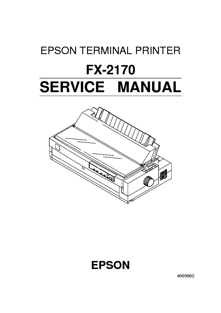 EPSON STYLUS COLOR CX6300 CX6400 CX6500 CX6600 Service