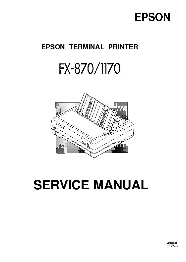 EPSON CX7300 CX8300 TX200 TX400 SX200 NX200-SM Service