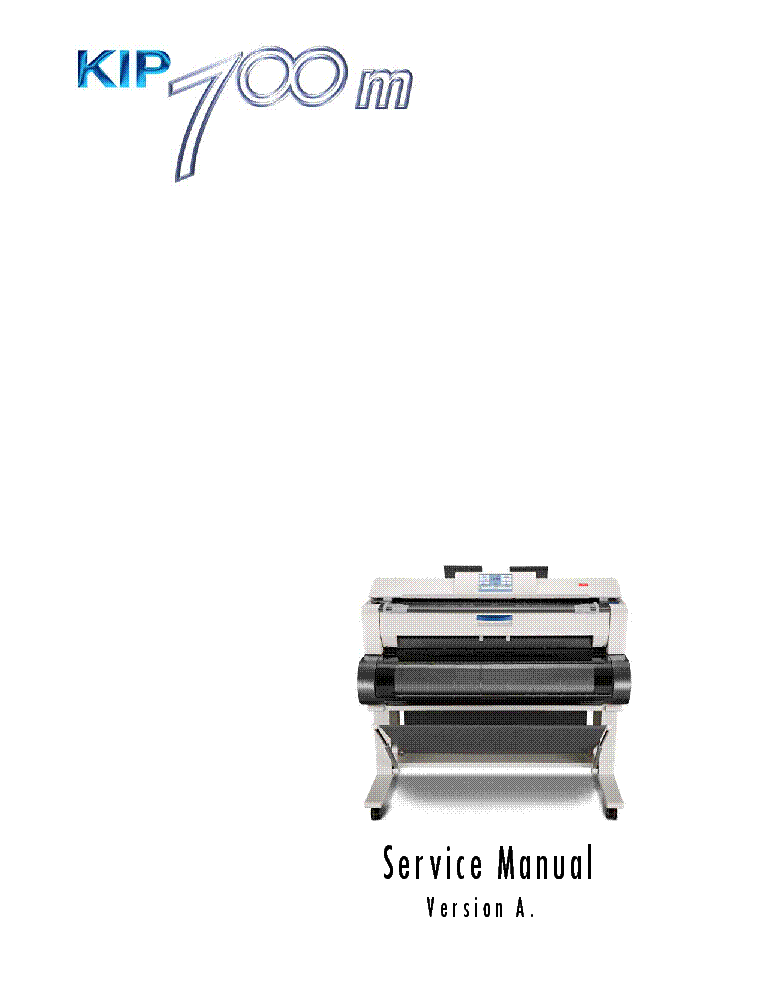 KONICA-MINOLTA KIP700M VER.A Service Manual download
