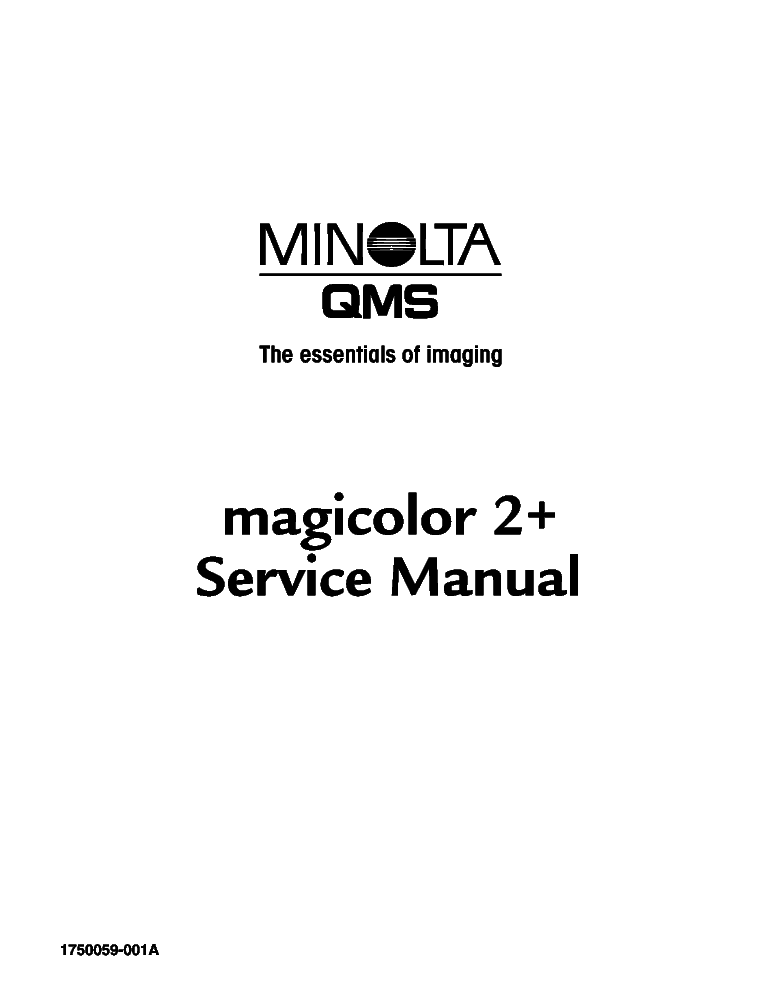 KONICA CSM-7075 7085 FORCE-75 85 SM Service Manual free