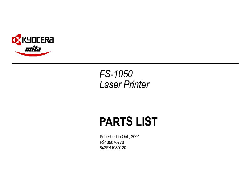 KYOCERA MITA FS-1028MFP Service Manual download