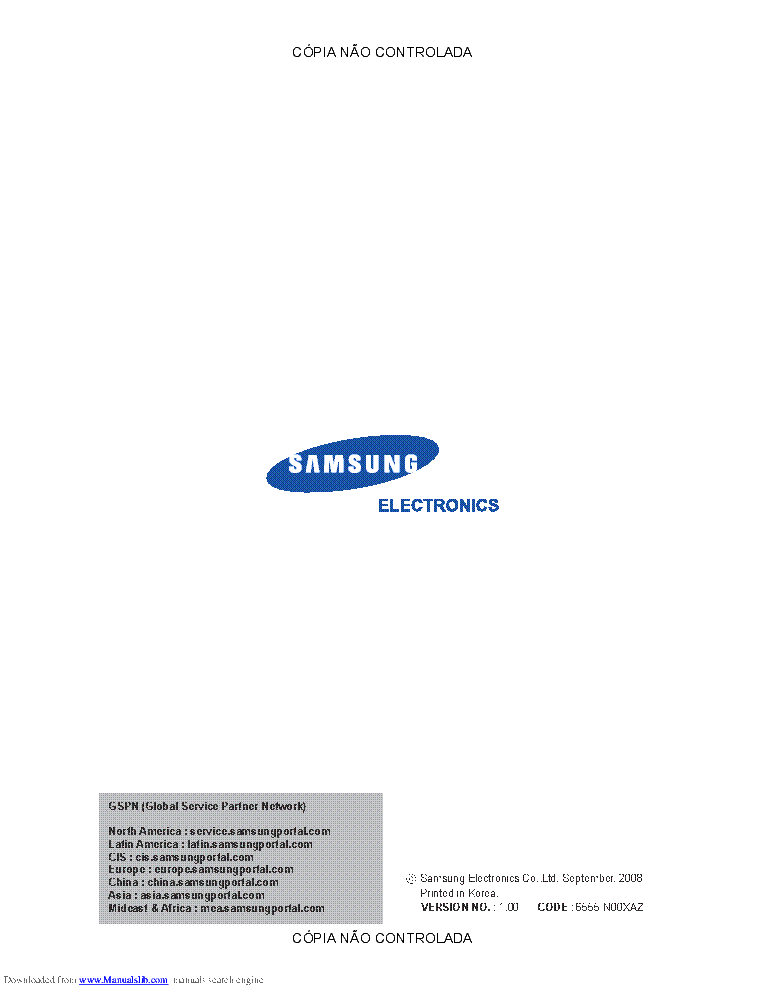 SAMSUNG SCX-6555N-XAZ Service Manual download, schematics