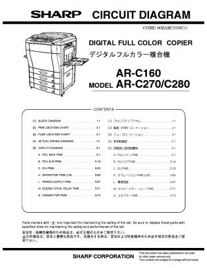 SHARP ARP350 ARP450 Service Manual download, schematics, eeprom, repair info for electronics