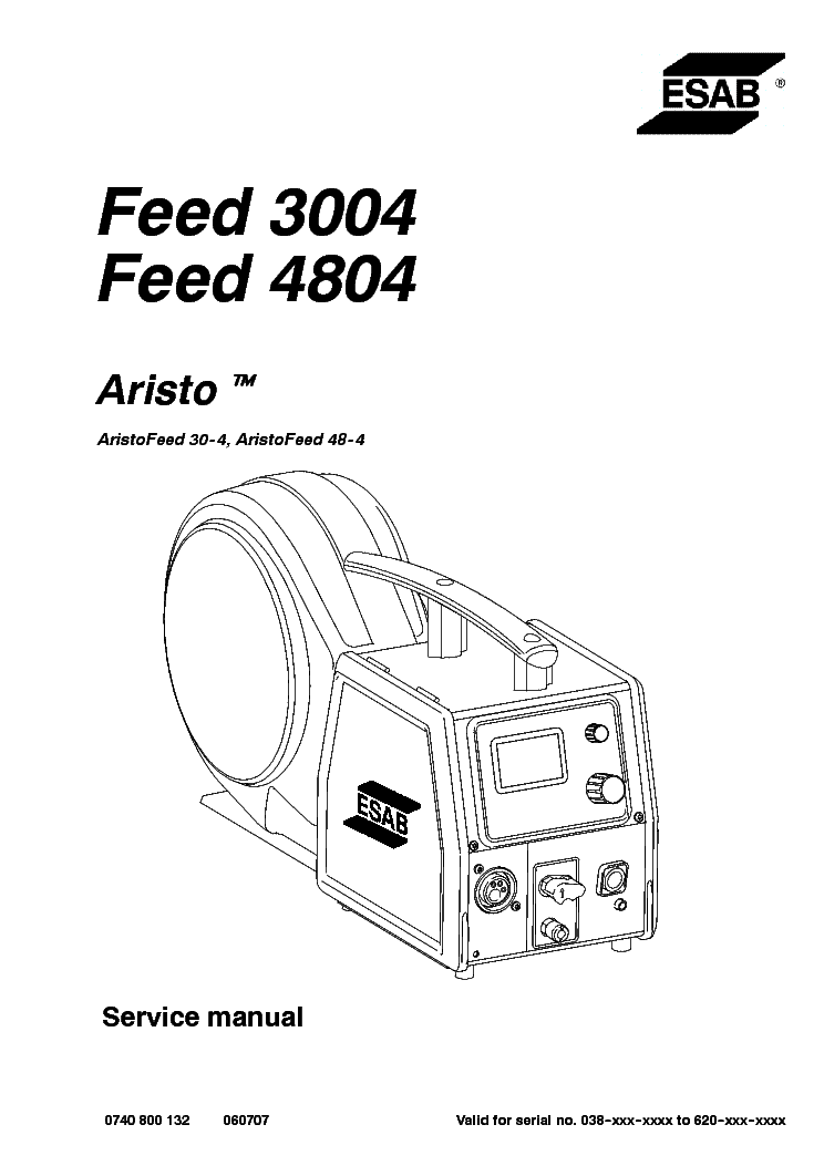 esab_feed_3004_feed_4804_060707.pdf_1 Radio Wiring For Dodge Nitro Diagram on